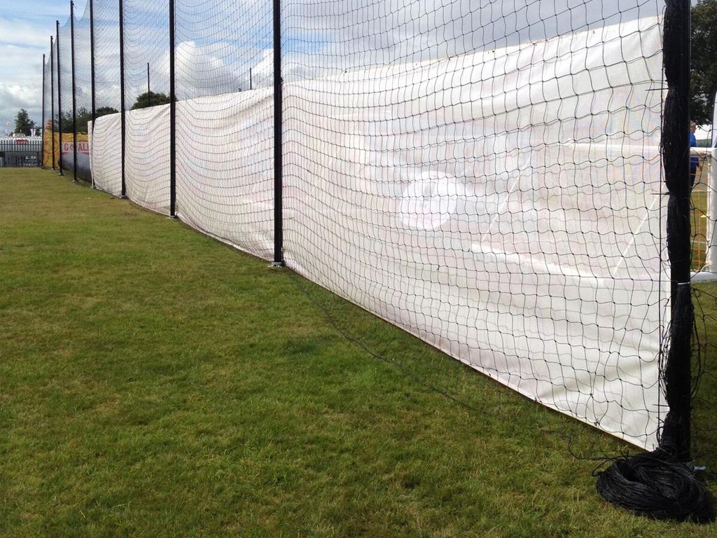 Carfest 2015 Ground Screws Sports Netting Foundations Rear