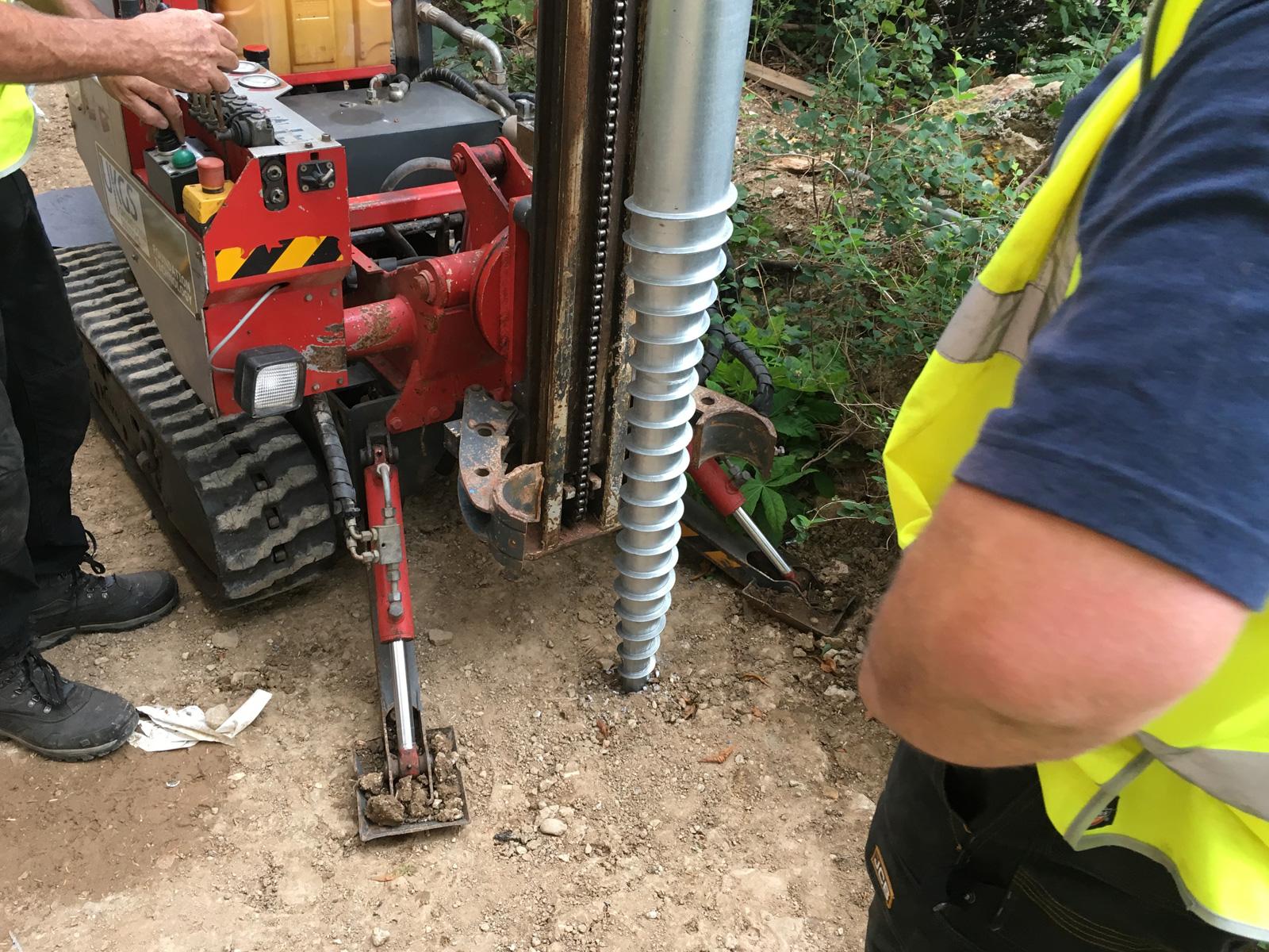 Railing Ground Screws